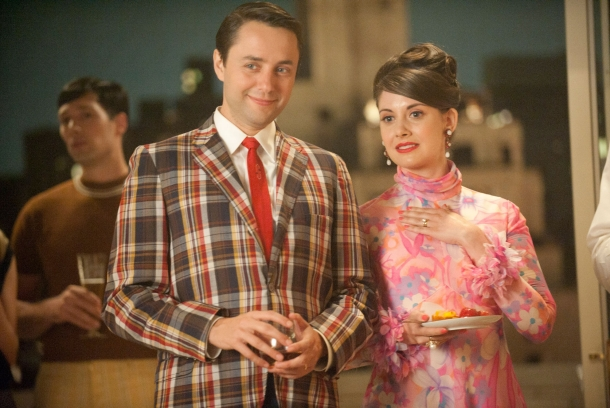 Mad Men - plaid & prints