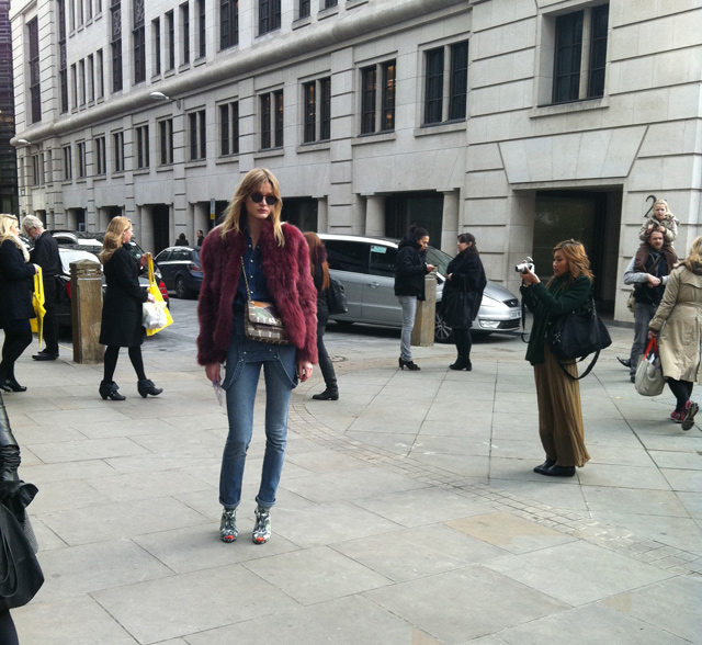 London Street Fashion 2012