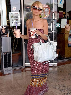 Boho Chic Nicole Richie - Maxi Dress