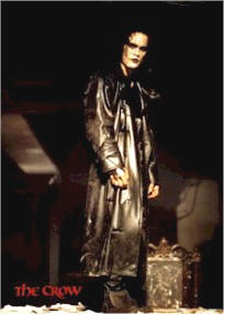 Brandon Lee, The Crow, Trench Coat