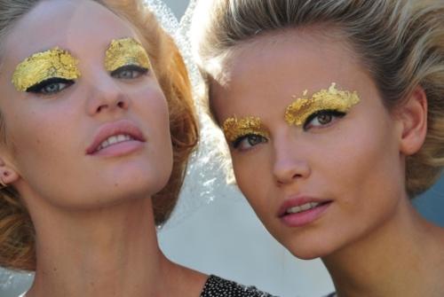 Fendi 2012 Fashion Week Beauty Looks