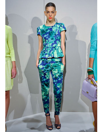 J. Crew - 2012 Spring Fashion Week