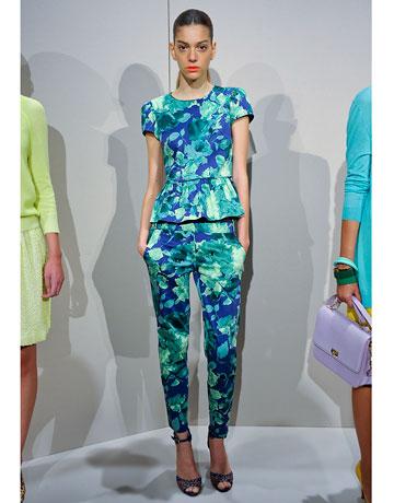 J. Crew - 2012 Spring Fashion Week