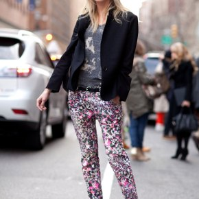 From The Catwalks To Celebrities & Then Straight To The Streets. 2012 Floral Print TrousersSpringTrend