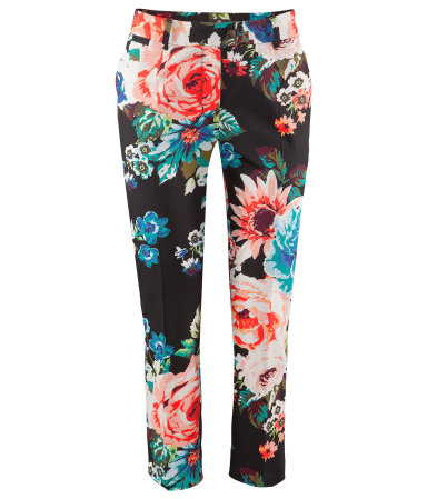 H&M £12.99 Floral Print Trousers