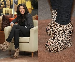Jessica Szohr - Crazy Shoes