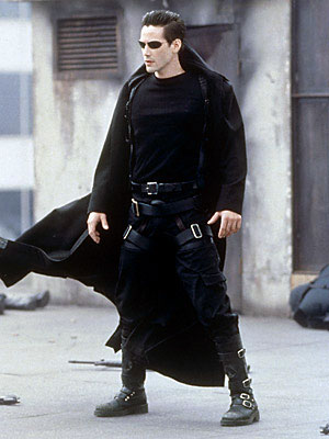 Keanu Reeves, Matrix, Trench Coat
