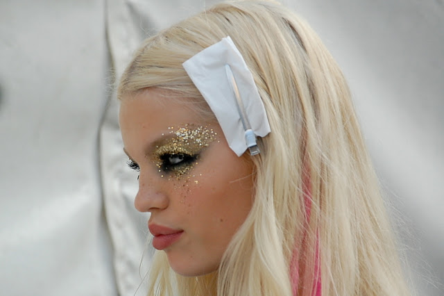 DSquared2 2012 Fashion Week Beauty Look