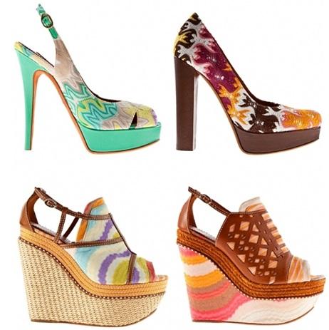 Missoni SS 2012 Shoes