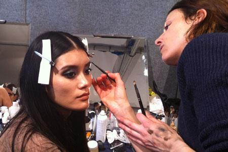 Roberto Cavalli 2012 Fashion Week Beauty Look