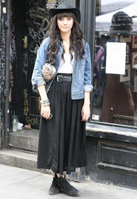 London Street Fashion 2012