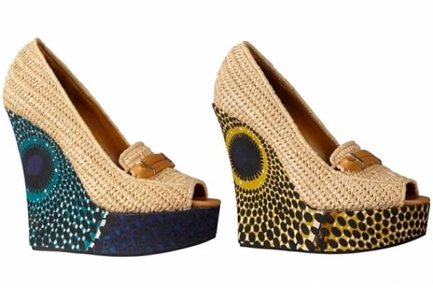 Burberry Prorsum SS 2012 Shoe Trends