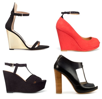 Zara SS 2012 Shoes Collection
