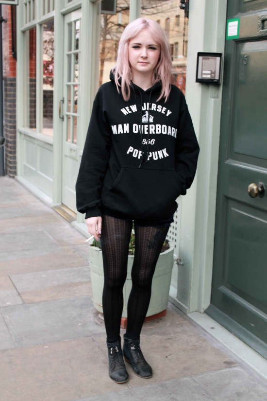 2012 London Street '90s Inspired Grunge Style