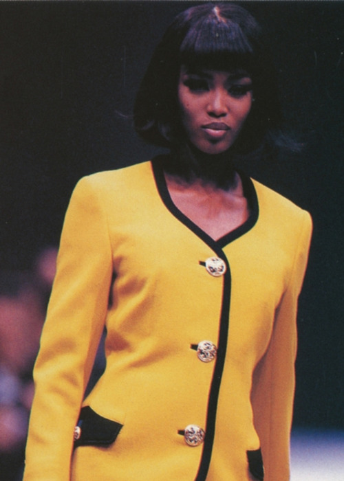 Naomi Campbell in '90s Runaway Show
