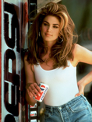 Cindy Crawford '90's Pepsi Campaign