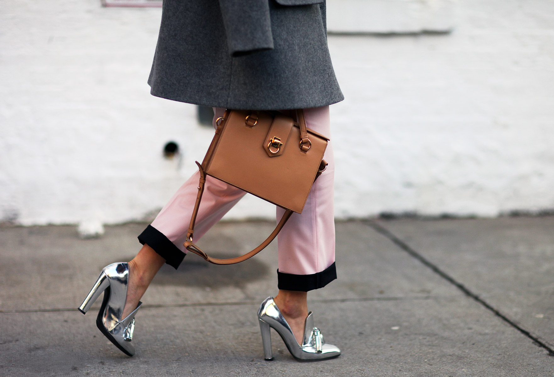 Alexander Wang Heels and Ferragamo Bag