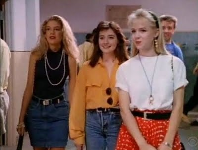 The '90s Beverly Hills 90210 Fashion