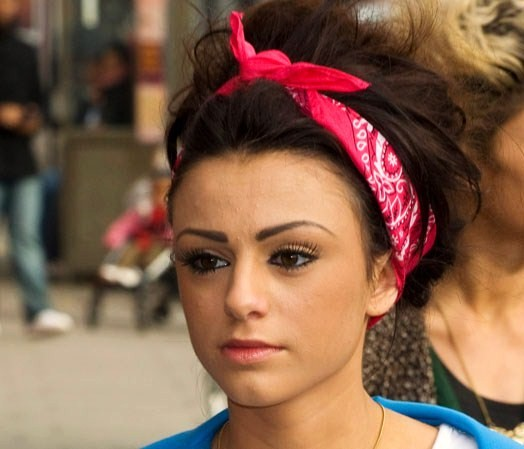 Cher Lloyd Head Scarf