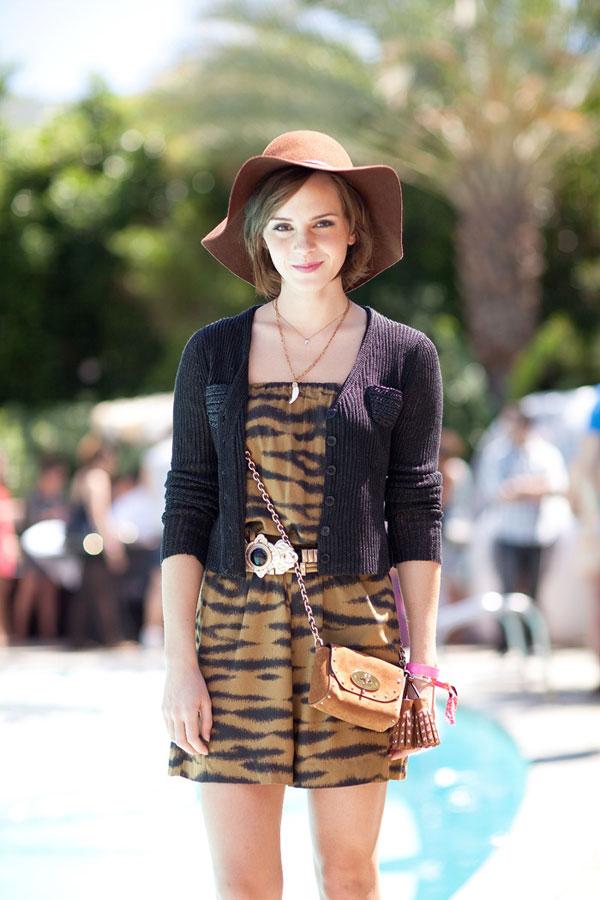 Coachella 2012 Fashion: Emma Watson
