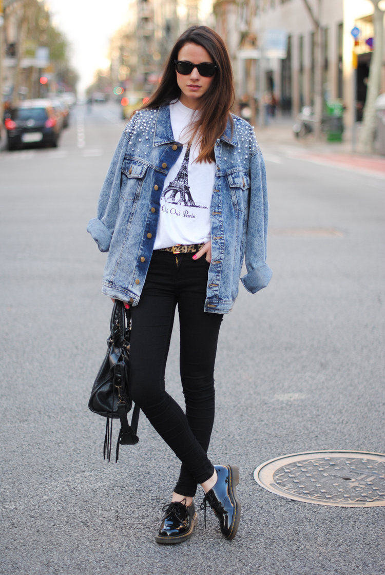 2012 London Street Style- The White T-Shirt