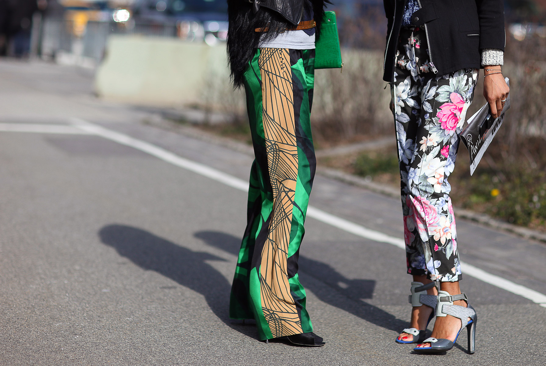 Alexander Wang Heels, Dries Van Noten Trousers, Celine Trousers