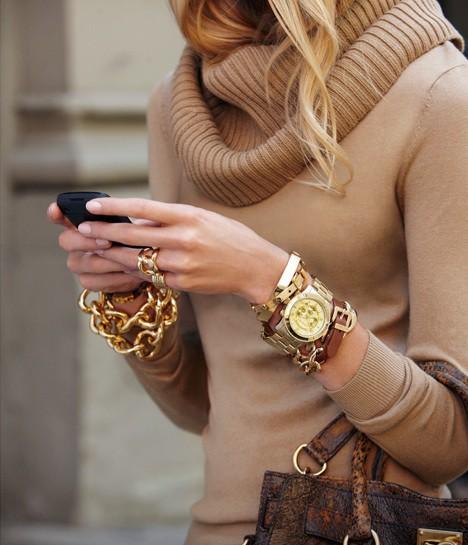 Gold Bracelets SS2012