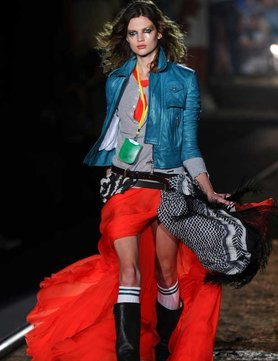 DSquared SS 2012 Grunge '90s Inspired Collection