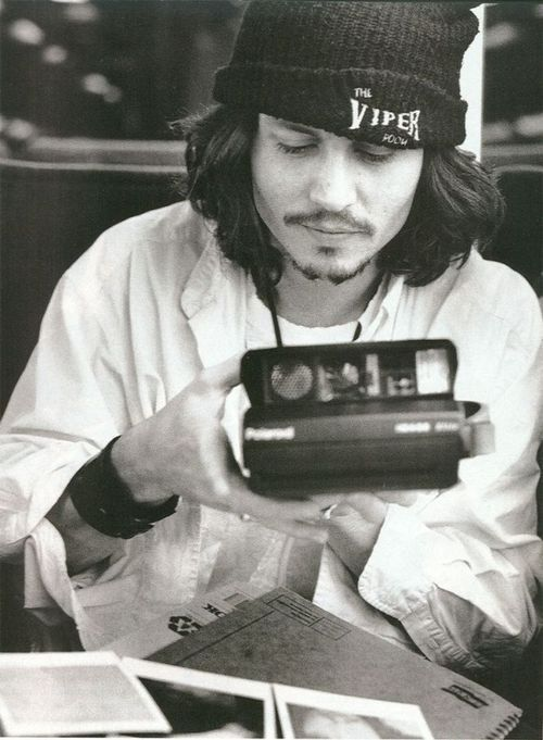 Johnny Depp Grunge Style - Then