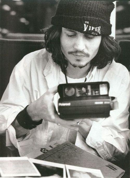Johnny Depp Grunge Style - Then