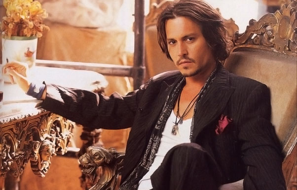 Johnny Depp Style 2012