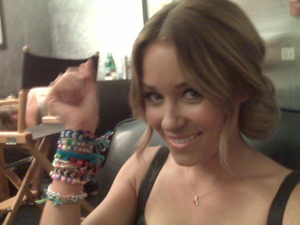Lauren Conrad friendship bracelets
