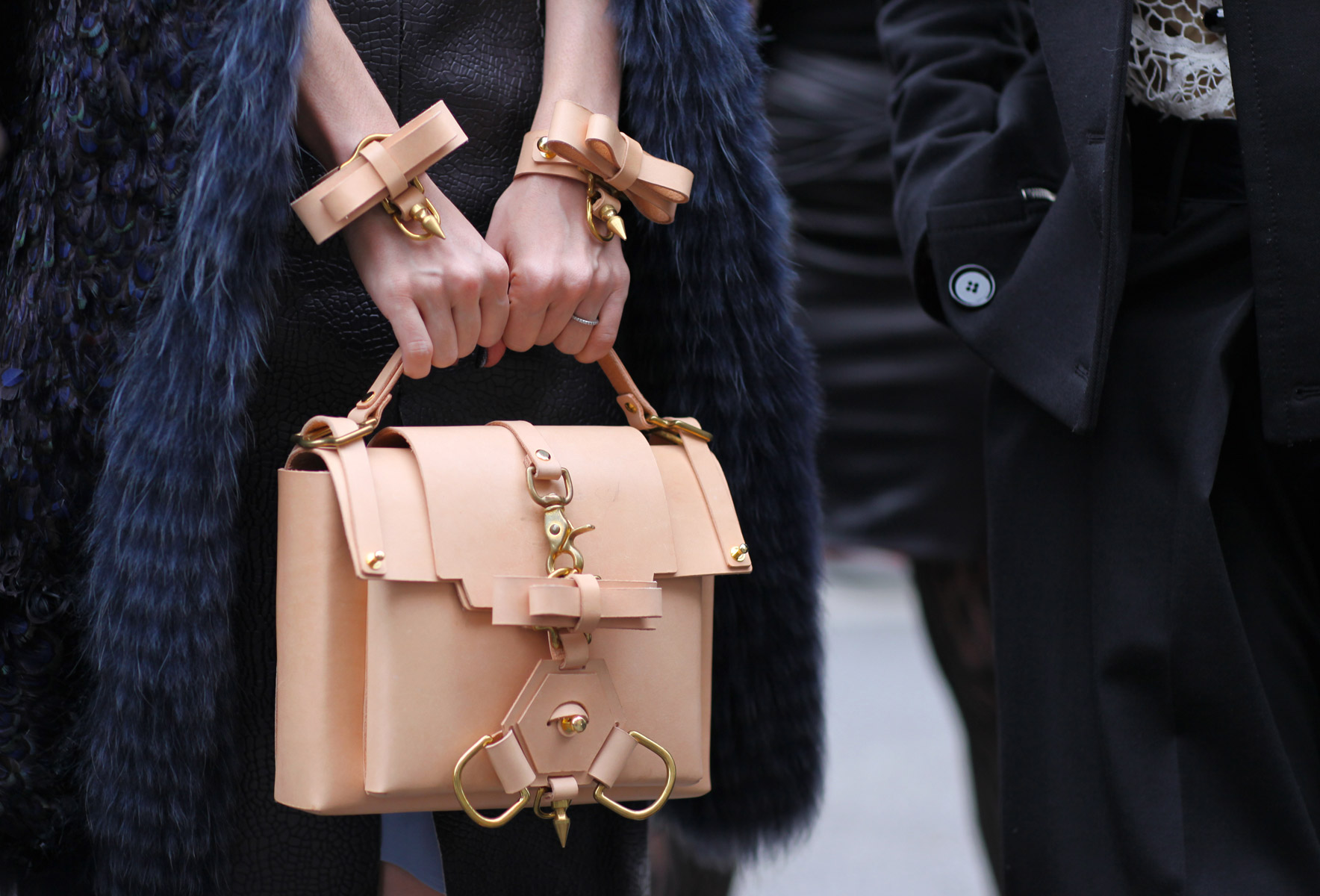 Niels Peeraer Bag and Cuffs