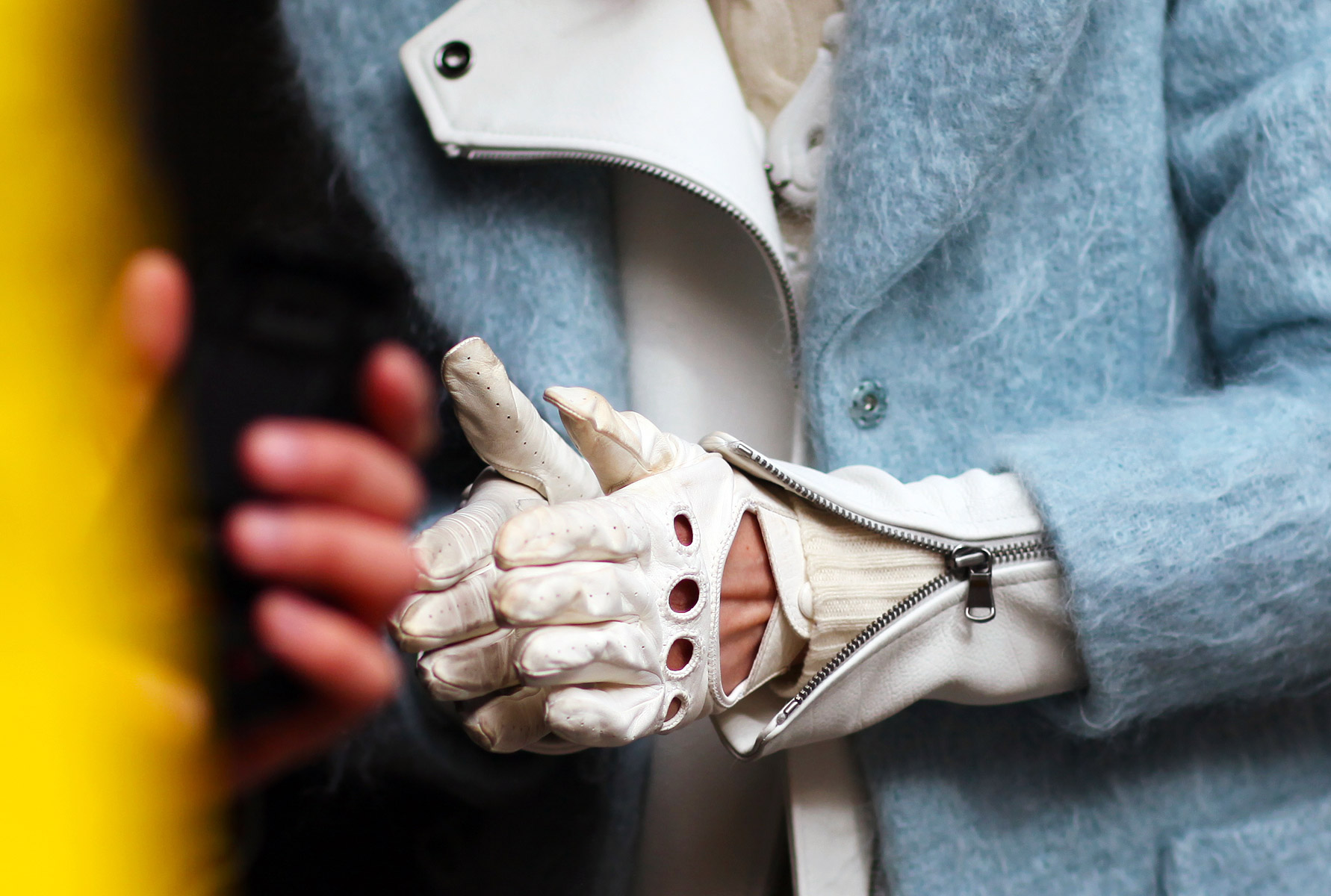 Zippers and White Gloves