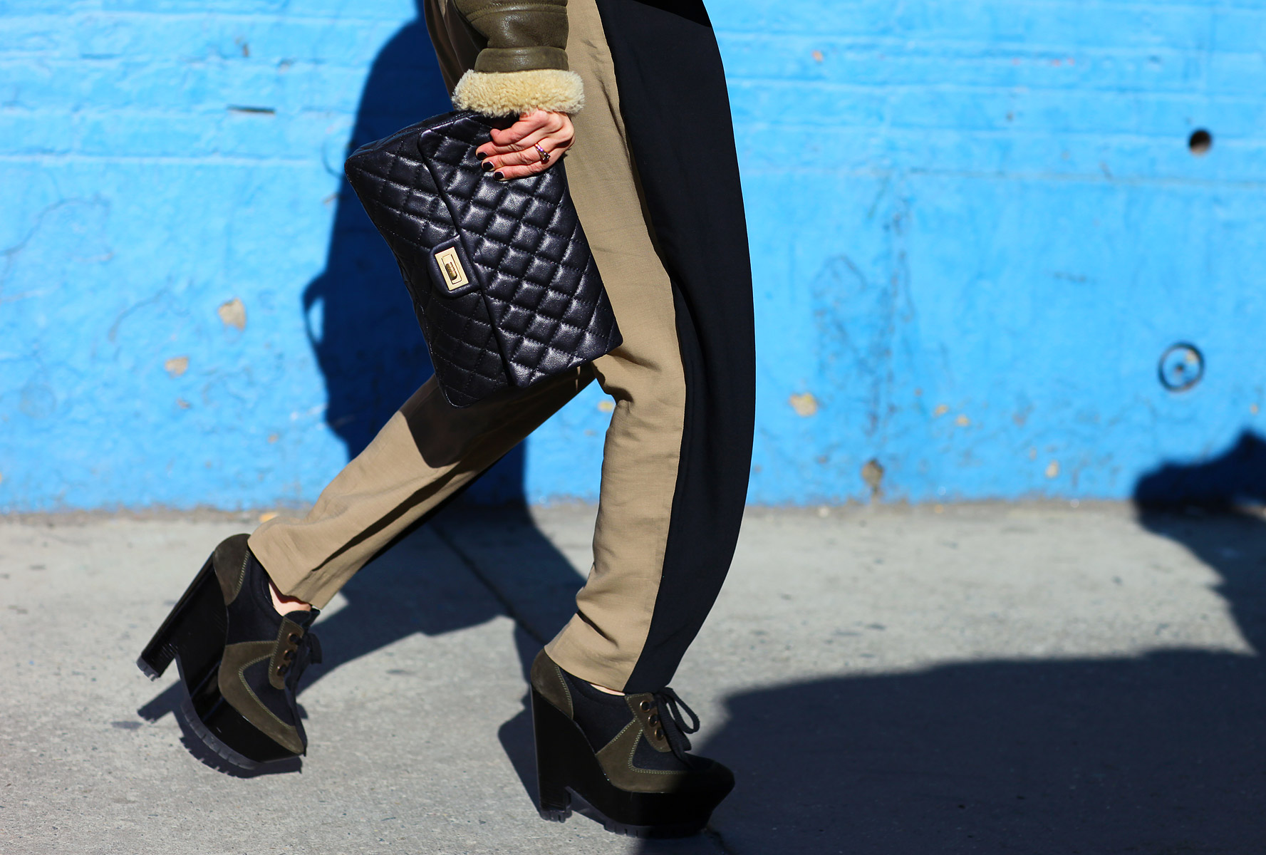 Phillip Lim Trousers; Burberry Boots