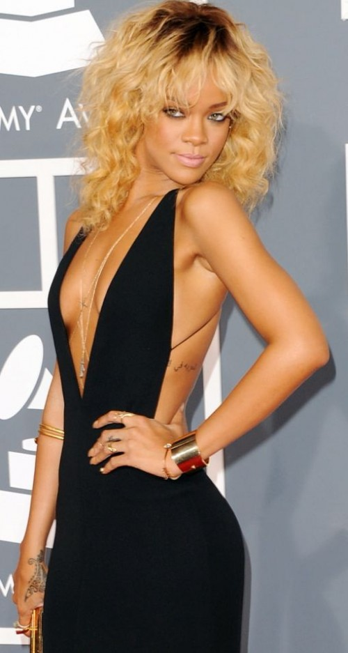Rihanna Gold Cuff