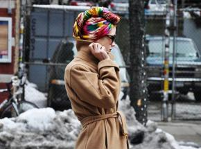 Head Wraps Fashion Trend. Celebrities & Street Style