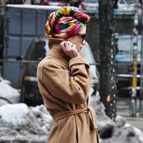 Head Wraps Fashion Trend. Celebrities & StreetStyle