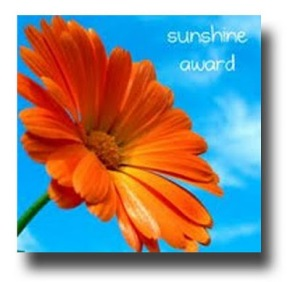 I've been nominated for the Sunshine Award!