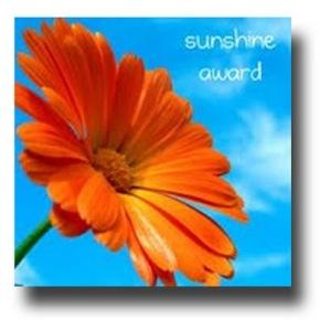 I've been nominated for the SunshineAward!