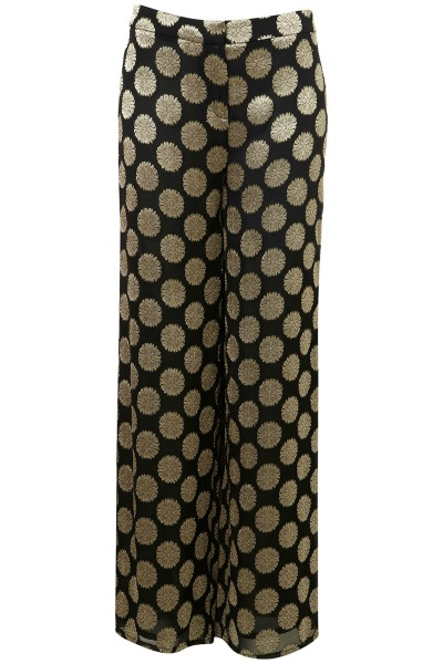 2012 Statement Trousers - topshop jacquard floral trousers