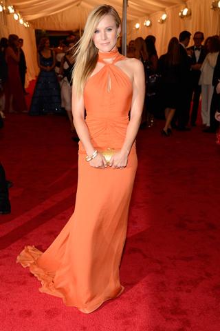 Kristen Bell - 2012 Met Gala