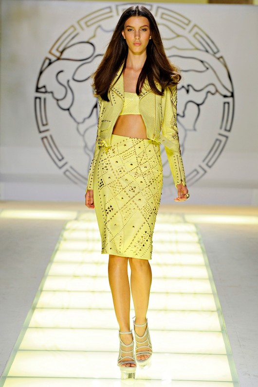 Versace Spring Summer 2012 - Bare Midriff