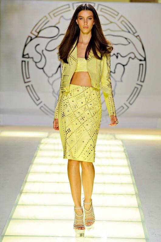 Versace Spring Summer 2012 - Bare Midriff