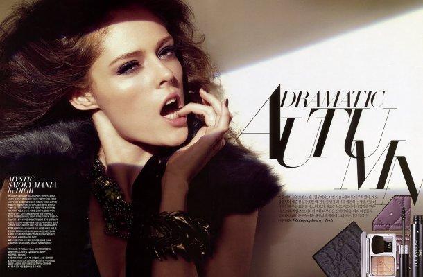 Star Style - Coco Rocha; Allure Korea