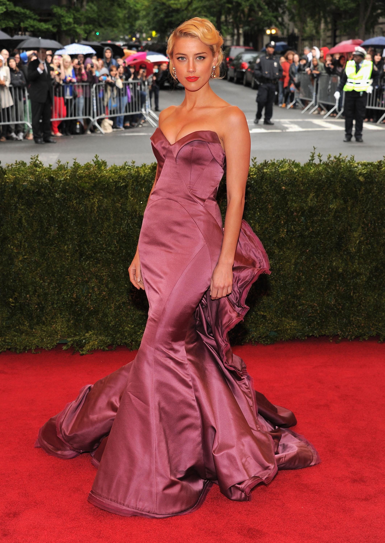 Amber Heard - 2012 Met Gala