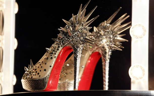 Christian Louboutin Spike Shoes -  Exhibition at Design Museum London 2012