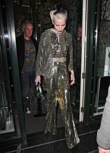 Daphne Guinness - Christian Louboutin Afterparty London 2012 - The Ivy Club