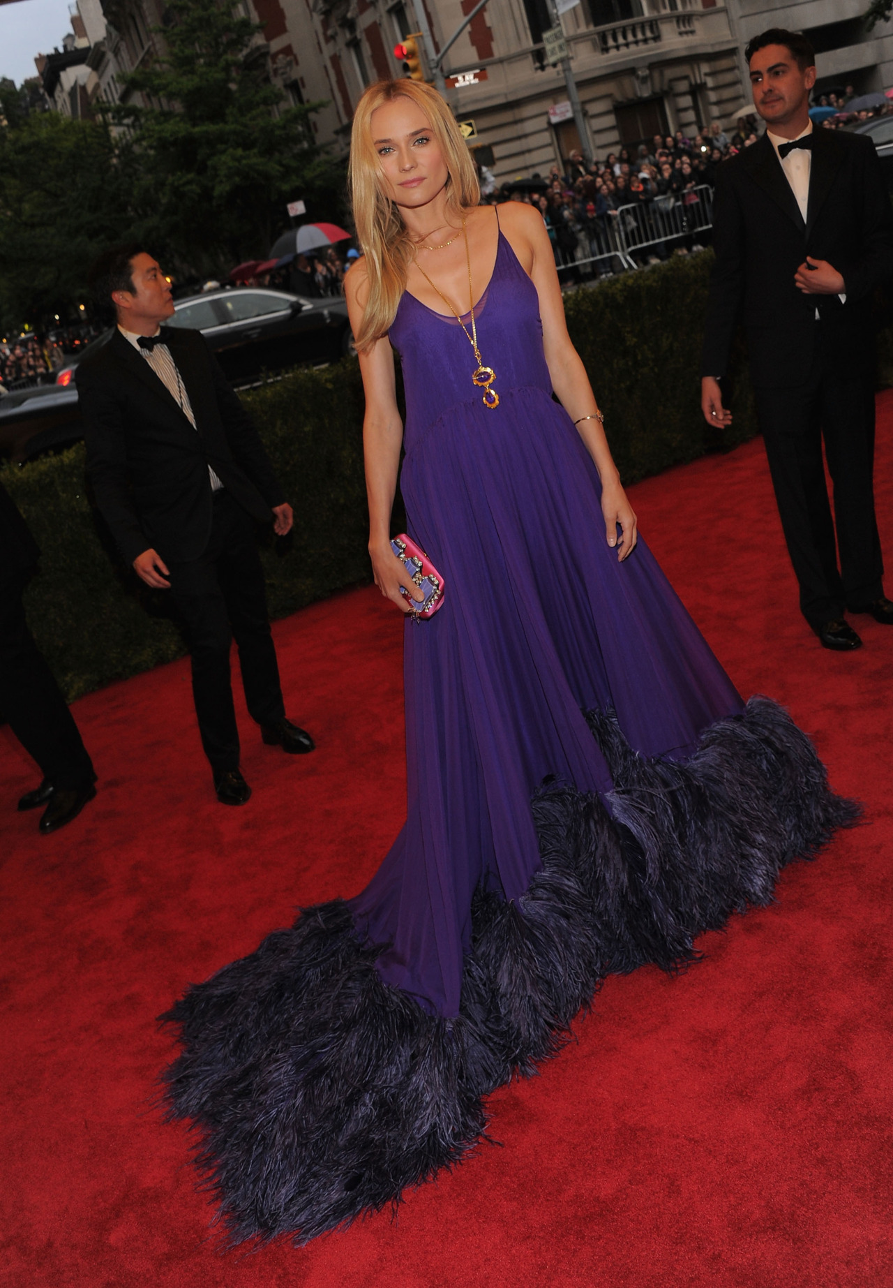 Diane Kruger - 2012 Met Gala