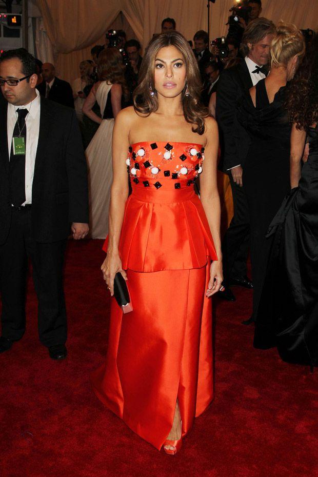 Eva Mendes - 2012 Met Gala